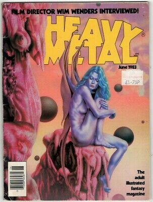 Heavy Metal Vol VII, No 3, June 1983. G+. From £3* • 3.99£