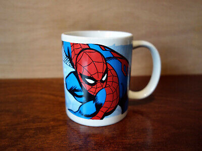 Marvel The Amazing Spider-Man Comic Book Mug (Excellent Condition) • 4£