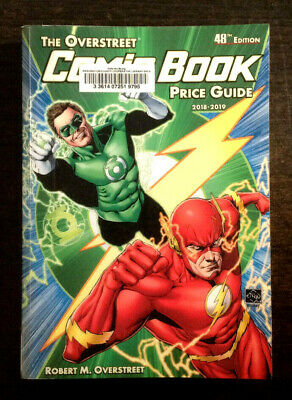 The Overstreet Comic Book Price Guide 48th Edition 2018-2019 (Ex-Library) • 11.25£