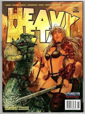 Heavy Metal #298, Furthest Reaches Special 2020. VFN. From £7* • 7.99£