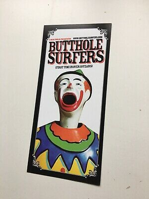 Butthole Surfers Rare Tour Leaflet Gibby Haynes Live London  • 5.99£