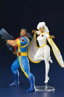 Artfx+ Marvel Universe X-men 92 Bishop & Storm 2pk Statue • 84.99£