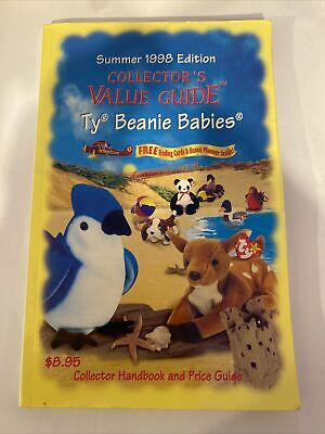 Summer 1998 Edition Collector's Value Guide/Price Handbook Ty Beanie Babies Book • 3.50£