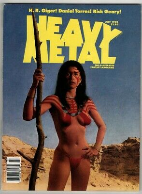 Heavy Metal Vol XIV, No 3, July 1990. FN. From £3* • 3.99£