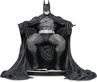 BATMAN BLACK & WHITE STATUE- MARC SILVESTRI-1st EDITION- DC  Factory Sealed • 178.81£