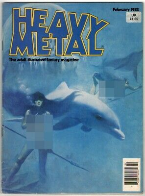 Heavy Metal, Vol VI Number 11, February 1983. VG/FN. From £4* • 4.99£