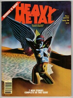 Heavy Metal, Spring 1986. FN. From £3.50* • 4.49£
