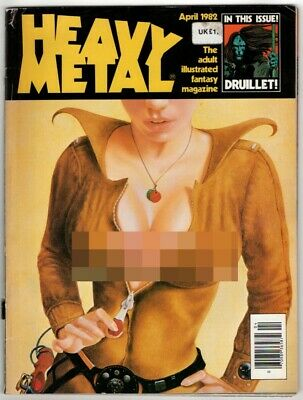 Heavy Metal, Vol VI Number 1, April 1982. G+. From £4* • 4.99£
