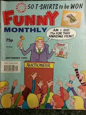 Funny Monthly Comic Sept 1980 • 3.95£