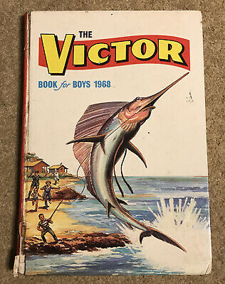 Victor Book For Boys 1968 • 2.50£