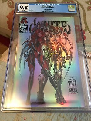 White Widow 4 Deadly Duo Foil Cgc 9.8 • 100£