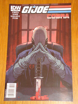 G.i. Joe Cobra #10 Ri Cover 2010 Idw Zach Howard • 7.99£