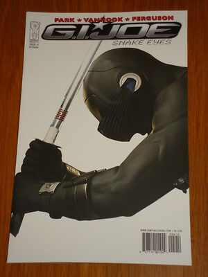 G.i. Joe Snake Eyes #4 Ri Photo Cover 2010 Idw Lee Ferguson • 7.99£