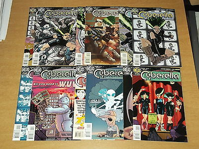Cyberella #1-12 Dc Helix Howard Chaykin 1996 Set (12) • 19.99£
