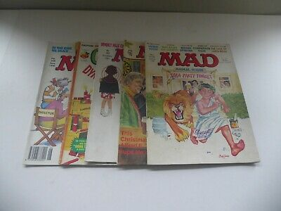 Mad And Cracked Comic Job Lot Of 5. • 25£