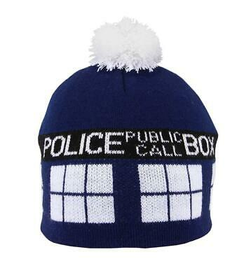 Hat Doctor Who Doctor Dr Tardis Booth Telefonca Police Serie TV #1 • 22.50£
