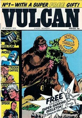 Vulcan Comics - 39 Issues & Specials On DVD-ROM For PC • 1.49£