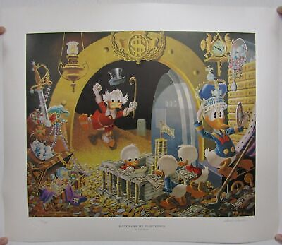 Hands Off My Playthings Print By Carl Barks • 444.05£
