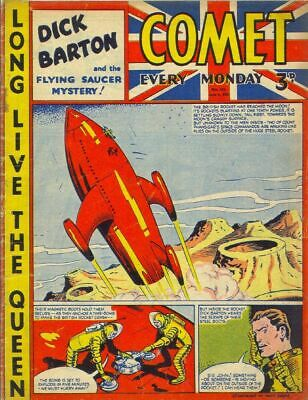 COMET COMICS On PC-DVD 160  Issues  FREEPOST • 1.99£