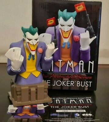 JOKER BUST - Batman The Animated Series By Diamond Select Toys • 34.96£