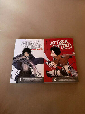 Attack On Titan No Regret Complete Collection Volumes 1-2 English UK • 5£