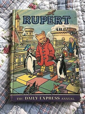 Rupert The Bear Annual 1977 Vintage Daily Express • 1.90£