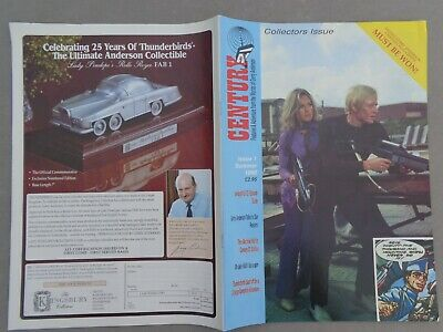 Century 21 Collectors Issue: Summer 1990 Issue 1 Captain Scarlet, Gerry Anderson • 2.50£