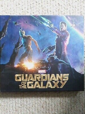 Guardians Of The Galaxy The Art Of The Film, Book - Super Rare - Like New • 90£