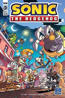 Sonic The Hedgehog #31 (2020) 1st Printing Yardley Cover A Idw Comics • 3.55£