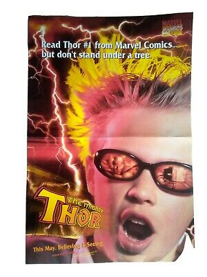 The Mighty Thor #1 Marvel Comics Original 1998 Promotional Poster!  • 0.99£