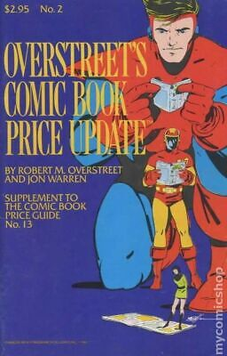 Overstreet Price Guide Update #2 VG 1983 Stock Image Low Grade • 1.53£