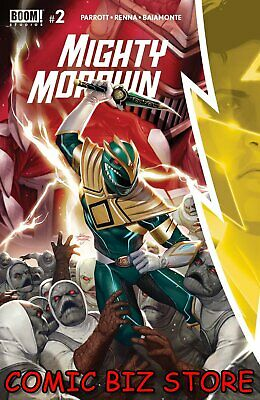 Mighty Morphin #2 (2020) 1st Printing Lee Main Cover Boom Studios ($4.99) • 4.25£