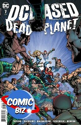 Dceased Dead Planet #7 (2021) 1st Printing Main Cover Dc Comics ($4.99) • 4.25£