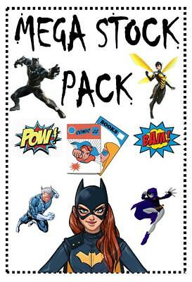 ***mega Stock Pack***contains 5 Mystery Comics***only £4.99 • 4.99£