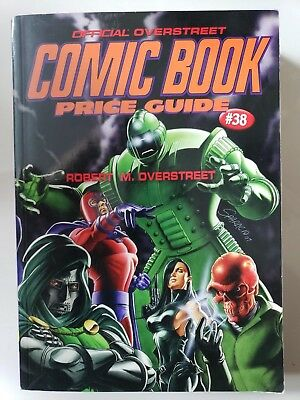 THE OVERSTREET COMIC BOOK PRICE GUIDE 2008 38th EDITION PAPERBACK NEW UNREAD • 8.58£