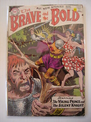 Brave And The Bold #22 Vg (4.0) Viking Prince Dc Comics • 39.99£