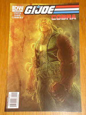 G.i. Joe Cobra #9 Ri Cover 2010 Idw Ben Templesmith • 7.99£