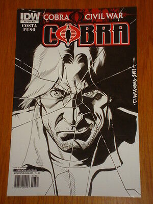 G.i. Joe Cobra Vol 2 #3 Ri A Cover 2011 Idw David Williams • 7.99£