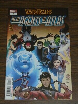 War Of The Realms New Agents Of Atlas #1 Marvel Comics July 2019 Nm (9.4) • 9.99£