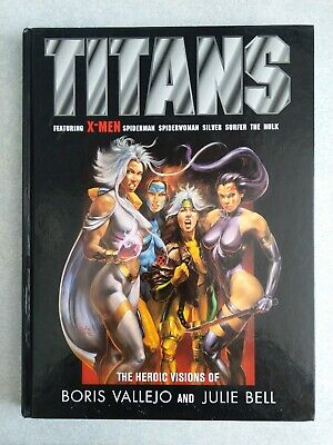 Titans The Heroic Visions Of Boris Vallejo And Julie Bell • 20£