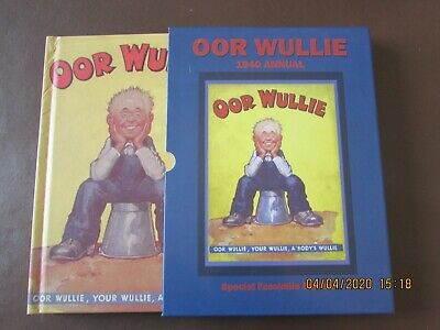 Oor   Wullie    Annual   1940  Facsimile Edition  Very Good Condition   • 9.99£