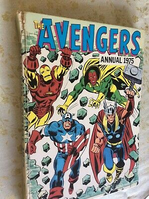 Avengers Annual 1975 - Authentic Good Condition Marvel Annual  • 39.99£