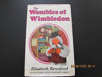 THE  WOMBLES   OF   WIMBLEDON  STORY  BOOK  D/J  GOOD For AGE  RARE • 2.50£
