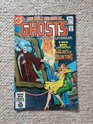 DC NO. 102 July YOU WILL BELIEVE IN GHOSTS Comic. Dr 13 Ghostbreaker • 0.99£