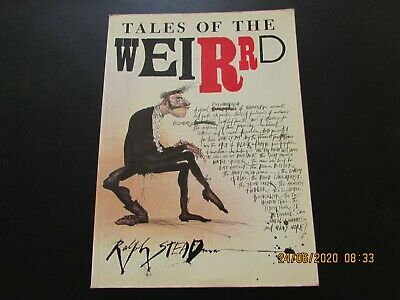 TALES  Of The   WEIRRD  By RALPH  STEADMAN  1990     VERY GOOD  FOR AGE • 2.50£