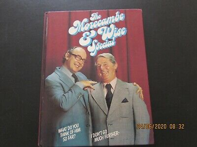 THE  MORECAMBE And WISE  SPECIAL  BOOK VERY GOOD  FOR AGE • 2.50£