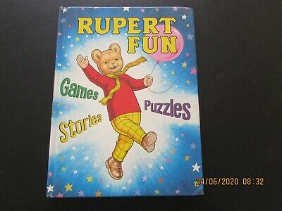 Rupert  Fun  Games  Puzzles  Stories  Good For Age    • 2£