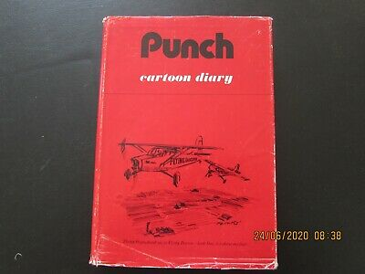 The  Punch    Cartoon   Diary  1979  D/j    Very     Good For Age    • 2£