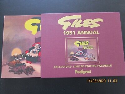 Giles   1951  Annual  Collector's Limited Edition Facsimile   Mint  • 6£