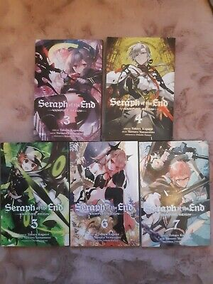 Seraph Of The End Manga Volumes 3-7 • 1.90£